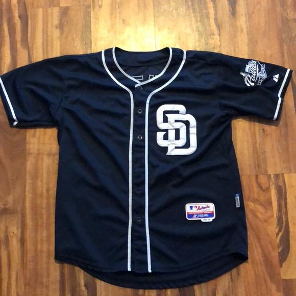 super popular 5b0b9 29912 San Diego Padres Johnny Manziel Jersey